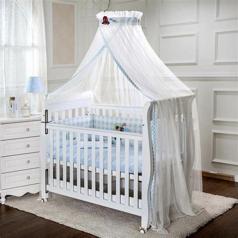 baby cot drapes baby cot bed mosquito net curtain canopy dome mesh