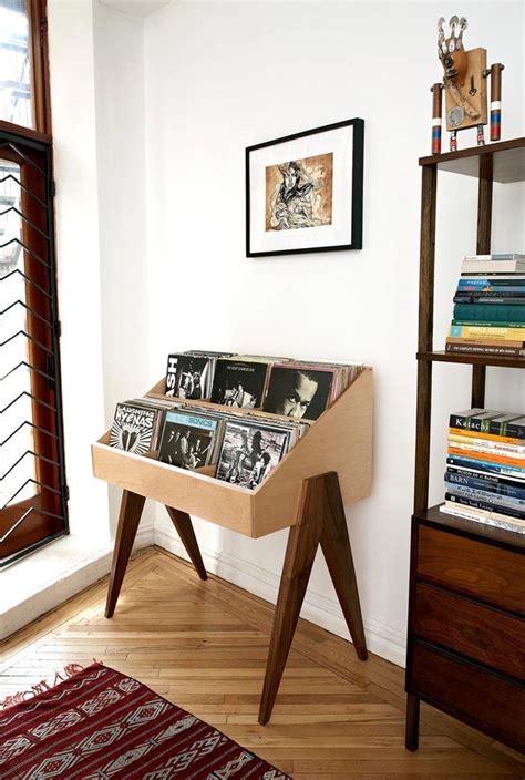 meuble rangement vinyle meuble vinyle 35 id 233 es design et pratiques pour votre collection archzine fr