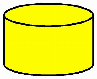Clipart Yellow Database Cylinder Clip Oracle Objects