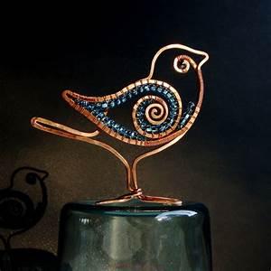 Wire Sculptures Of Birds By Ruth Jensen