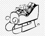Drawing Sledding Clipart Pinclipart Coloring Sled sketch template