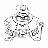 Ducktales Glomgold Flintheart Wiki Coloring Duckburg Baloney Cent sketch template