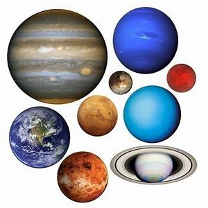Planets of Our Solar System Vinyl Wall Decal Set ...