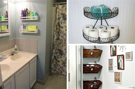 Diy Bathroom Storage Ideas by 8 Best Diy Small Bathroom Storage Ideas That Will You