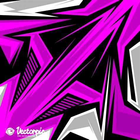 Racing Stripes Abstract Line Purple Background Free Vector