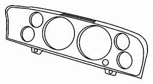 Ram 1500 Cluster  Instrument Panel