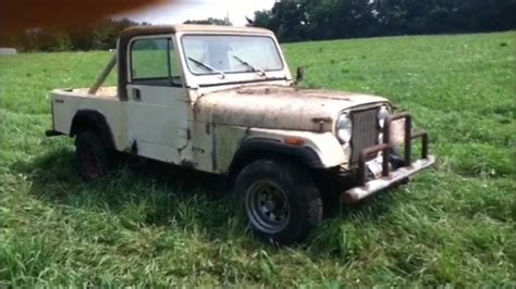 1983 Jeep Cj8 Scrambler Quot In The Rough Quot Youtube