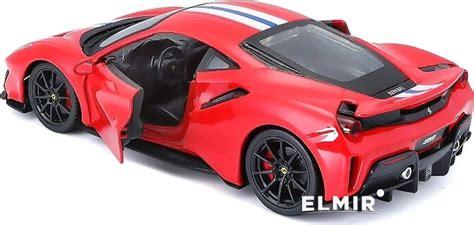 This one comes from their race & play collection. Автомодель Bburago Ferrari 488 Pista 1:24 (18-26026) купить   ELMIR - цена, отзывы, характеристики