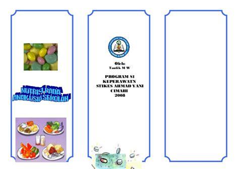 Sekolah Untuk Remaja Hamil Leaflet Nutrisi Anak Sekolah2