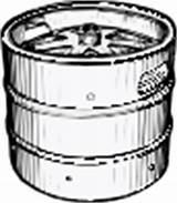 Keg Beer Clip Vector Svg Clker Clipart 4vector sketch template