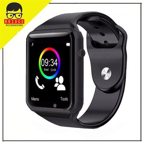 jual murah smartwatch a1 smart u10 support sim card memory card for android ios di