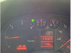 Audi A3 Indicator fault FIX!!!! YouTube