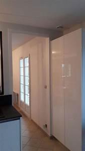 Panneau Laqué Blanc Brillant Sur Mesure : une cuisine sur mesure cuisines habitat ~ Melissatoandfro.com Idées de Décoration