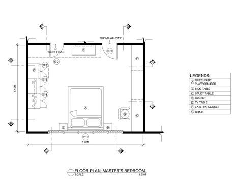 12x12 Bedroom Furniture Layout by Computer Aided Design By Ruth Annalyn Acibar At Coroflot