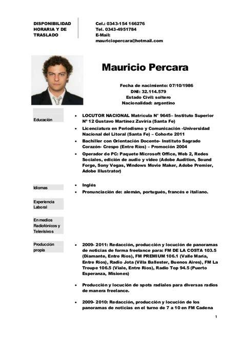 modelo de curriculum vitae nicaragua modelo de