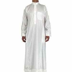 traditionnelle robe musulmane blanc abaya jilbab homme With robe homme musulman