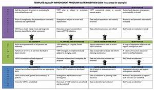 continual quality improvement matrix 6 volunteer southwest With continual service improvement template