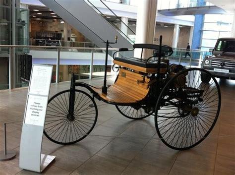 A sikerek igazolták a döntést: the first car made by Mercedes Benz !! - Picture of Mercedes-Benz World at Brooklands, Weybridge ...