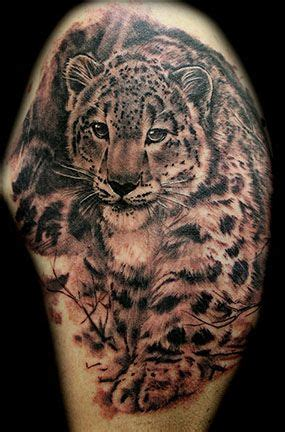 snow leopard tattoo designs images  picture ideas