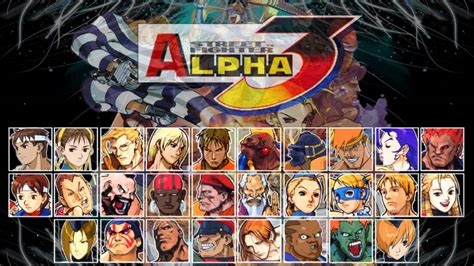 Street Fighter Alpha 3 All Character Themes Youtube
