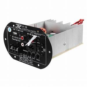 12v 220v Bluetooth Power Amplifier High Power Subwoofer