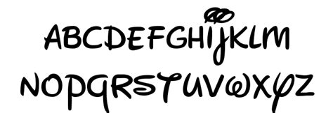 New Walt Disney Font Regular Font