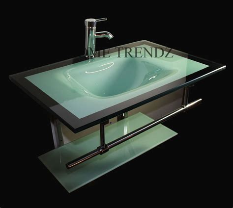 discount kitchen faucet 30 inch wide glass wall mount sink vanity combo with glass