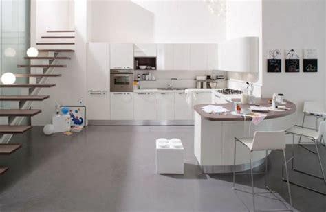 cuisine avec bar arrondi la cuisine design toujours aussi moderne