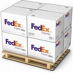 Fedex Boxes Icon Container Clip Transparent Delivery