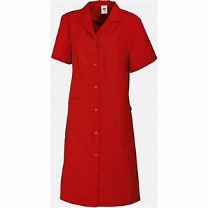 Cote De Travail Femme : blouse de travail femme polyester coton tissu thermofix ~ Dailycaller-alerts.com Idées de Décoration