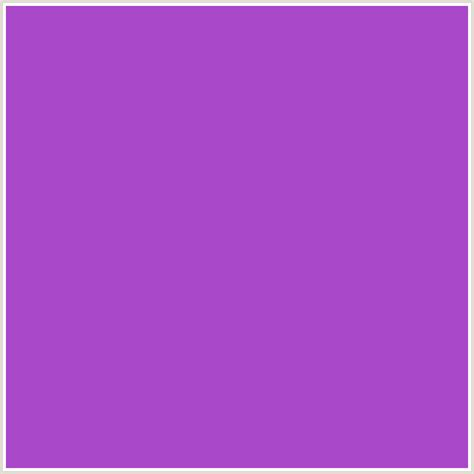 what color is amethyst a947c9 hex color rgb 169 71 201 amethyst purple