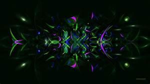Dark green abstract shapes - Barbaras HD Wallpapers