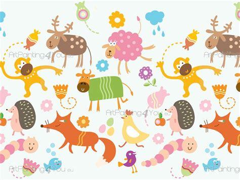 kids wallpaper borders funny animals artpaintingyoueu