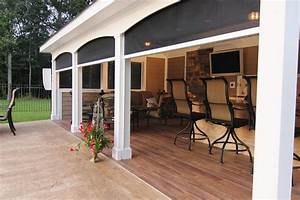 Retractable Porch Screens Types