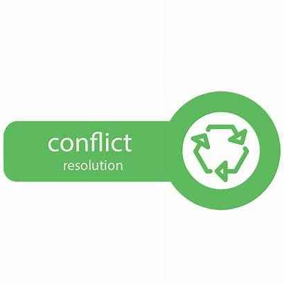 Conflict Resolution Character Icon Build Law Resolving