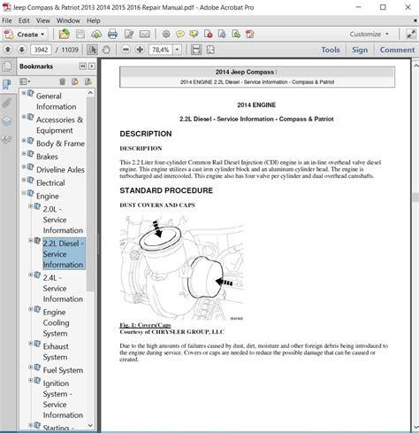 car repair manuals online pdf 1993 chevrolet s10 navigation system jeep compass patriot 2013 2014 2015 2016 repair manu autoservicerepair