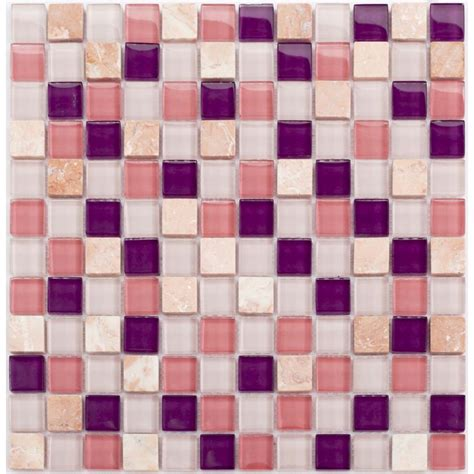 glass mosaic sheets square tiles cheap marble tile