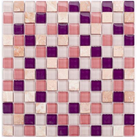 Stone Glass Mosaic Sheets Square Tiles Cheap Marble Tile