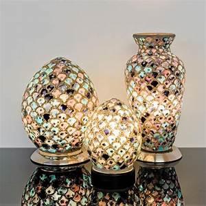 Mosaic, Glass, Lamp
