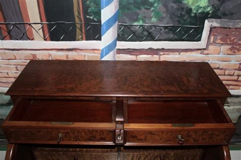 bureau cylindre napoleon iii en acajou antiquites lecomte