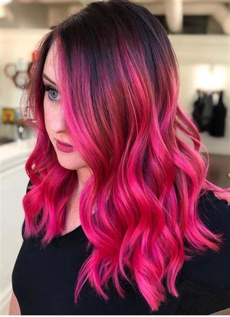 Best Ever Deep Pink Hair Color Ideas And Trends For Women