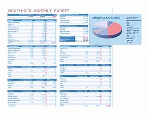 household monthly budget for microsoft excel With microsoft excel budget template 2013
