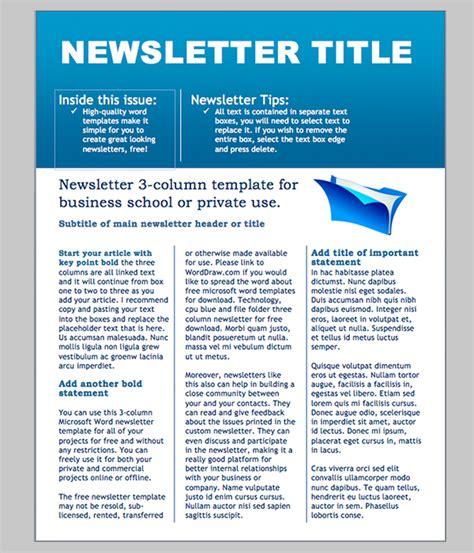 newsletter examplestemplate newsletter newsletter