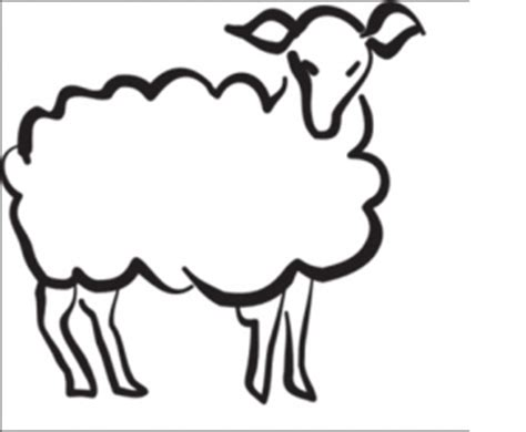 sheep coloring pages for preschool preschool and 183   sheep coloring pages for preschool free coloring page 300x247