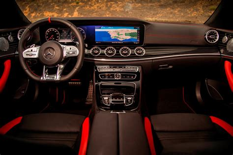 Quite a few princely choices raised our analyze automobile to the $161,675 sticker, complete of. 2021 Mercedes-Benz AMG E 53 Convertible Interior Review - Seating, Infotainment, Dashboard and ...
