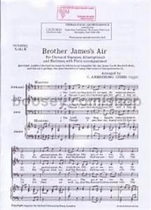 Gordon Jacob - Brother James's Air Ocs20005 S(A)B