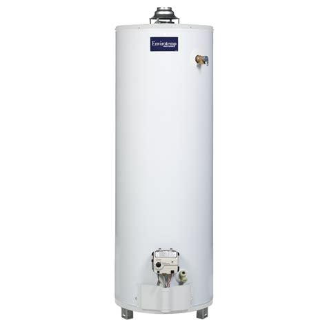 water heater shop envirotemp 40g ng tall ultra lownox envirotemp water heater 3 year warranty 40 gallon 3