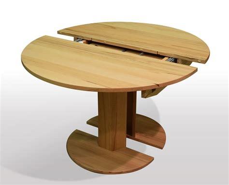 runder tisch kaufen holztische esszimmertische rund zum ausziehen
