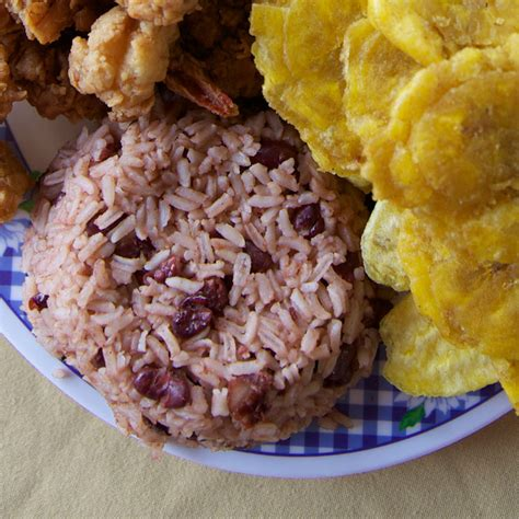rice and beans rice and beans with coconut milk resanbinsi recipe saveur