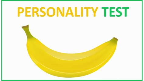 One Minute Personality Test